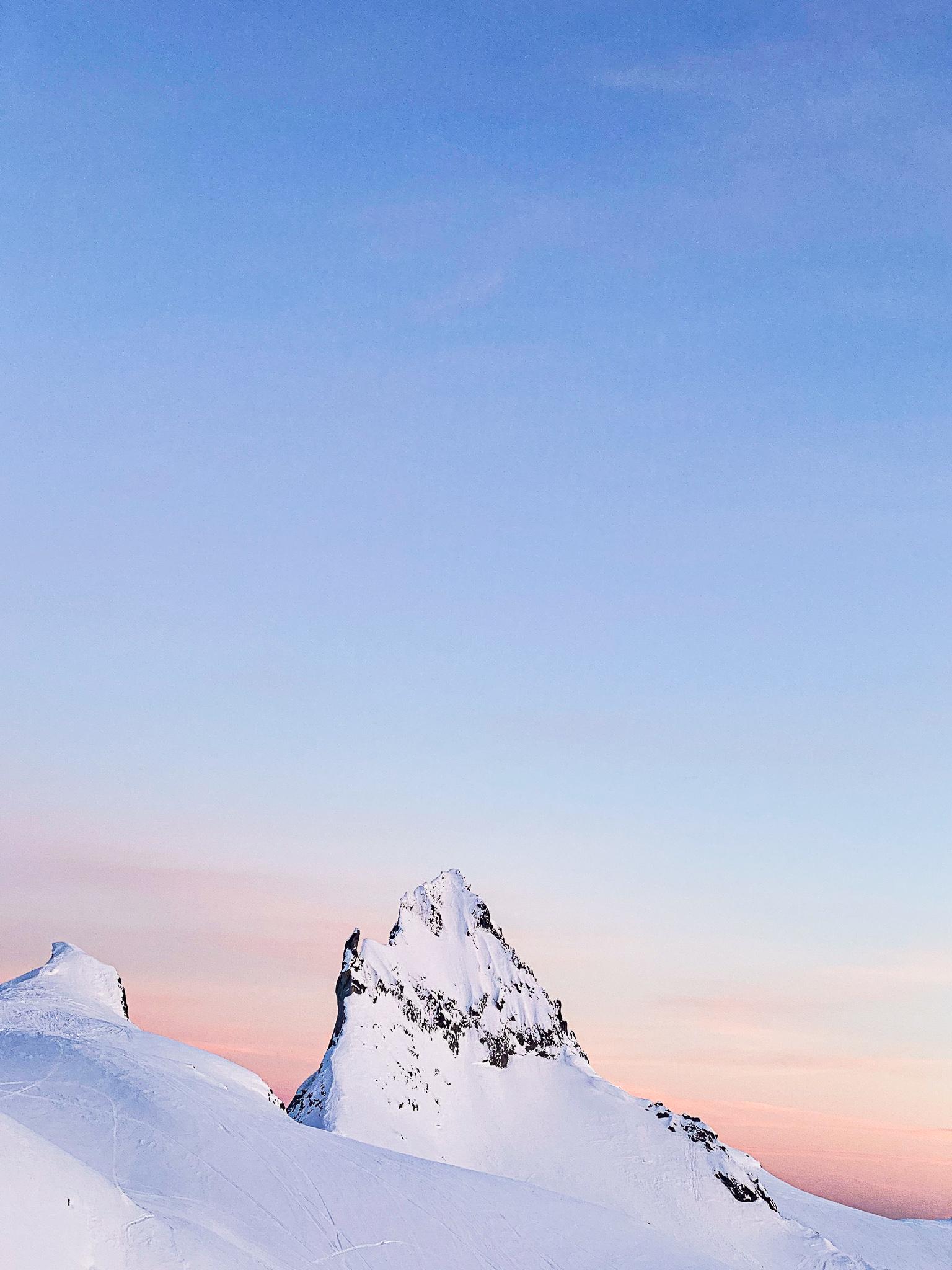 Mt Fee Sunset